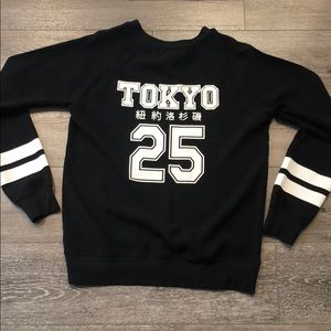 Forever 21 Black and White Tokyo Sweater
